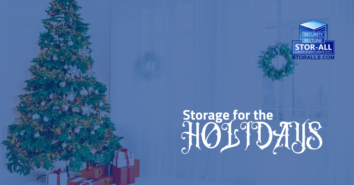 Storage for the holidays