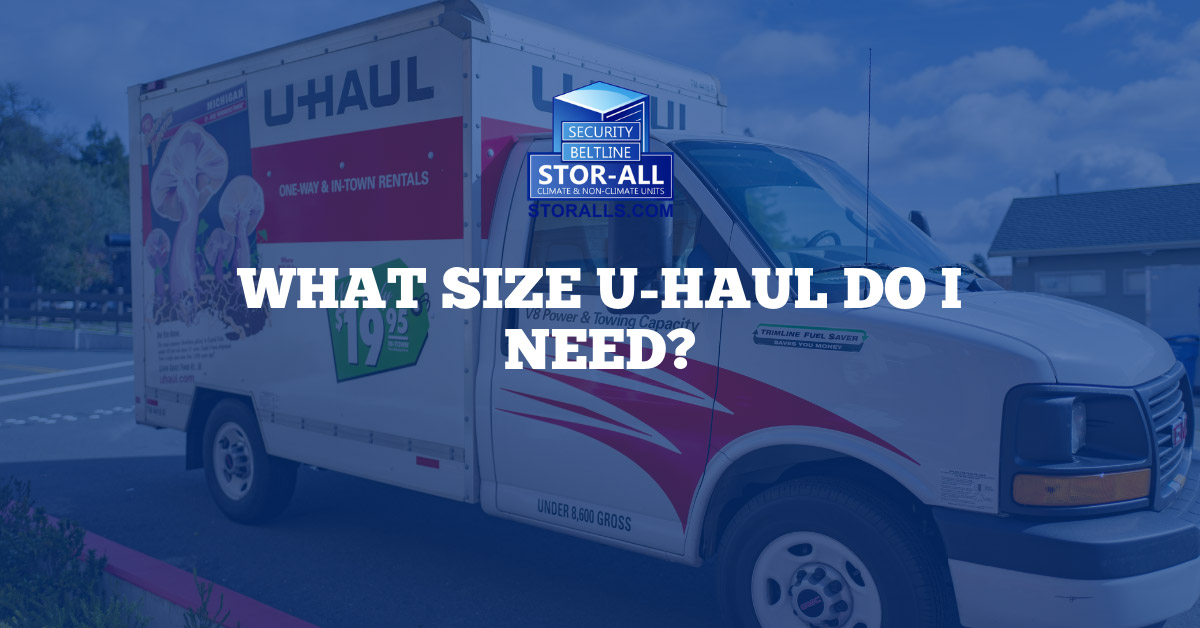 What Size U-haul Do I Need?