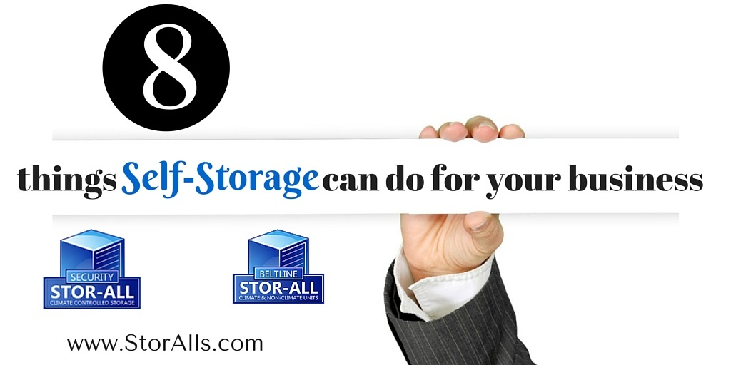 8 Things Self-Storage Can do for Your Business