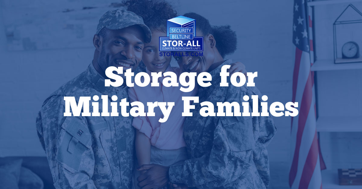 Storage for Military Families