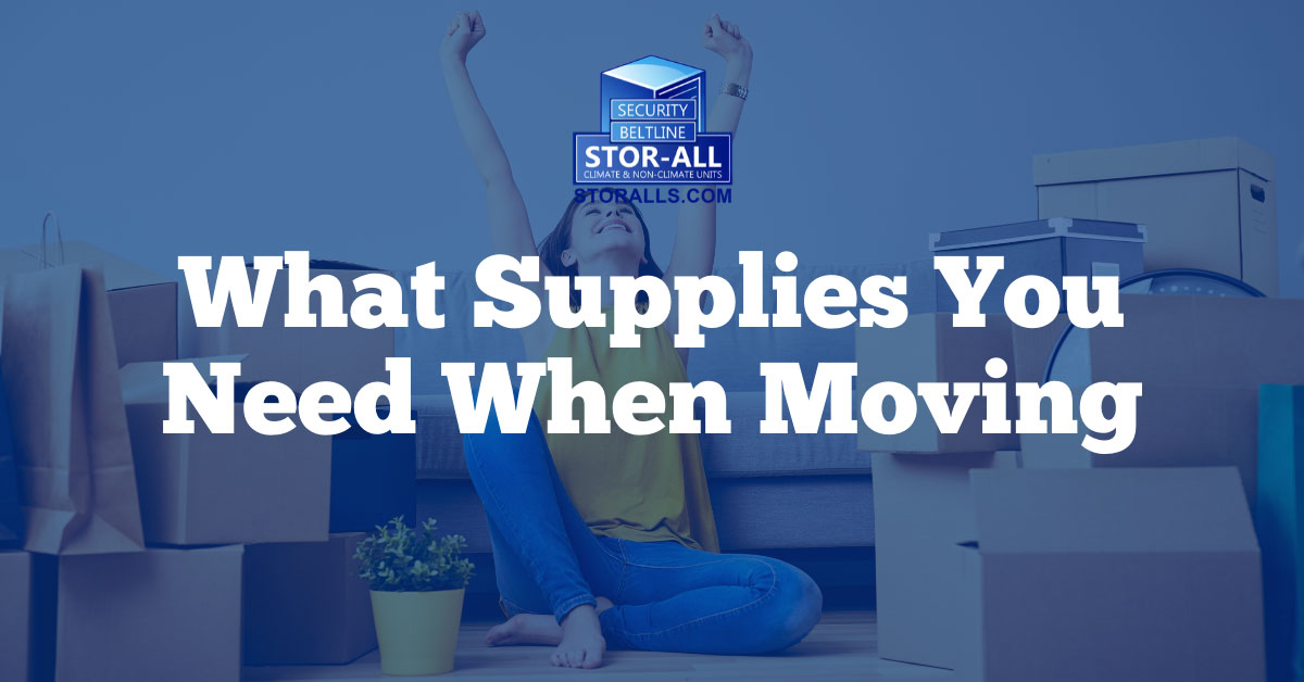 What Supplies Do You Need When Moving