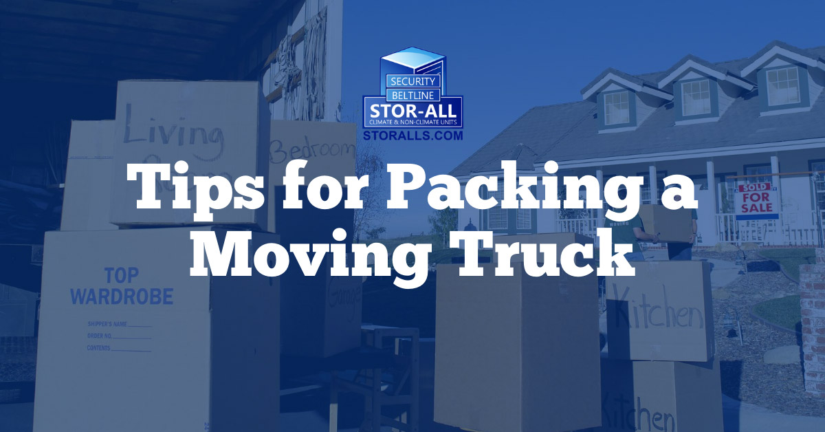 Tips for Packing a Moving Truck